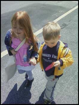 Mother's Day-kids holding hands