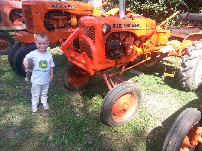corban tractor