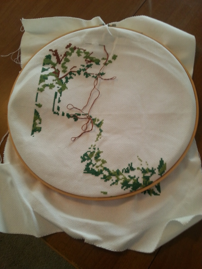 cross stitch front