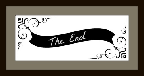 The End fancy