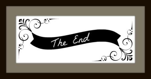The End fancy